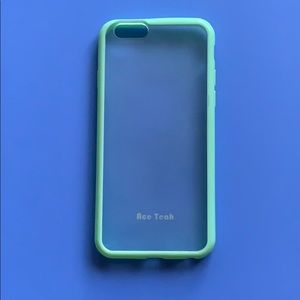 Accessories - Ace Tech Soft Green iPhone 6S Case